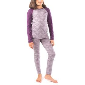 Icebreaker Oasis Ondergoed bovenlijf Kinderen violet